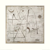 Gedanken bei Schnee, c.1933 Kunst av Paul Klee