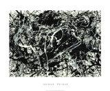 Number 33, 1949 Serigrafia tekijänä Jackson Pollock