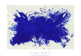 Hommage a Tennessee Williams Serigrafi (silketryk) af Yves Klein