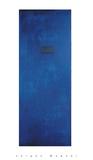 Untitled (Blue) Serigrafia por Jürgen Wegner