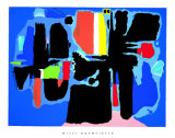 Kessaua Aru Plakat af Willi Baumeister