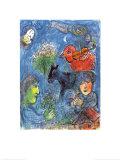 El verano Láminas por Marc Chagall