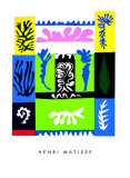 Amphitrite, c.1947 Silketrykk av Henri Matisse
