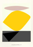Souzon Serigrafia por Victor Vasarely