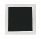 Black Square Serigrafi (silketryk) af Kasimir Malevich