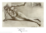 Antropomorf byrå med lådor|The City of the Drawers Affischer av Salvador Dalí
