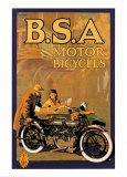 B.S.A. Motor Bicycles Print