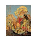 Autumn Orillia Plakater af Franklin Carmichael