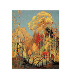 Autumn Orillia Print by Franklin Carmichael