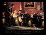 Klassisches Intermezzo Poster von Chris Consani