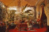 Veranda de la Princesse Mathilde Kunst af Charles Giraud