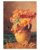 Flowers in a Jug Plakat af Eloise Harriet Stannard