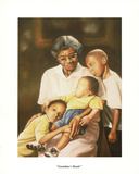 Grandma's Hands Posters af Tim Hinton