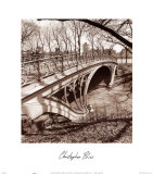 Central Park Bridge III Poster by Christopher Bliss