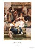 Venetians Posters by Samuel Luke Fildes