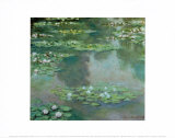 Waterlilies I 1905 Prints by Claude Monet