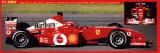 Ferrari da Formula 1 2002 Poster