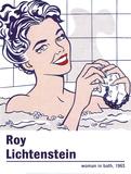 Woman in a Bath Affiches par Roy Lichtenstein