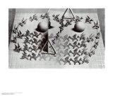 Zauberspiegel24 Kunstdruck von M. C. Escher