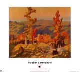 Autumn in the Northland Konst av Franklin Carmichael