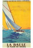 Reclameposter La Baule met Franse tekst Poster van  Alo (Charles-Jean Hallo)