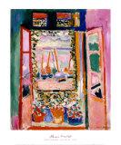 Ventana abierta, 1905 Láminas por Henri Matisse