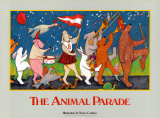 Animal Parade Posters by Nancy Carlson
