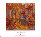 The Pool Prints by Tom Thomson