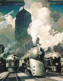 New York Central System Prints