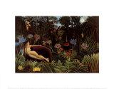 The Dream, 1910 Taide tekijänä Henri Rousseau