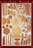 Italienisches Brot Poster