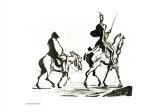 Don Quichotte Poster par Honore Daumier