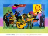 Jazz au Savoy Affiches par Romare Bearden