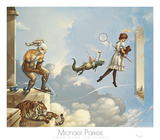 Desert Dream Posters by Michael Parkes