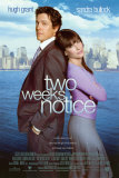 Two Weeks Notice Plakater