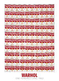 One Hundred Cans, 1962 Poster di Andy Warhol