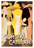 Cordial Campari Plakater av Marcello Dudovich