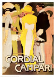 Cordial Campari Pôsters por Marcello Dudovich