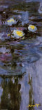 Waterlilies Poster por Claude Monet