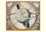 The Celestial Atlas Kunst von Andreas Cellarius