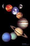 NASA: Sonnensystem Kunstdruck