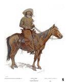 Arizona Cowboy Kunst af Frederic Sackrider Remington