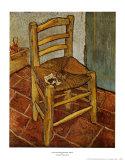 Van Gogh's Chair, c.1888 Pôsters por Vincent van Gogh