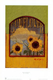 Three Sunflowers Posters av Thomas LaDuke