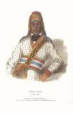 Yoholo-Micco, a Creek Chief Art by  McKenney & Hall