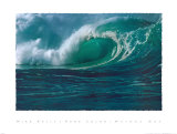 Waimea Bay Prints by Mike Kelly