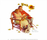 Fondly Do We Remember Art par Norman Rockwell
