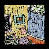 Badezimmer in der oberen Etage Poster von Brett Varney