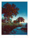 New Moon Plakater af Maxfield Parrish