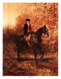 Girl Riding Side-Saddle Posters by Heywood Hardy